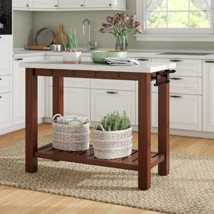 Yvette Kitchen Island Laurel Foundry Modern Farmhouse
