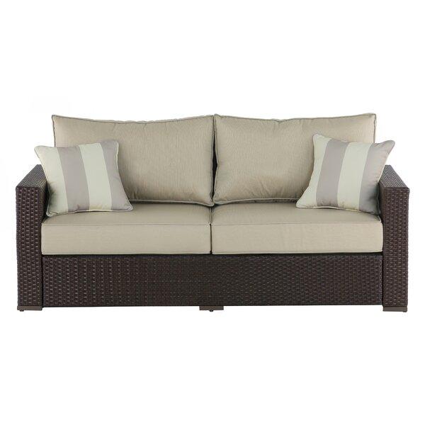 Serta At Home Laguna Outdoor Sofa With Cushions U0026 Reviews | Wayfair