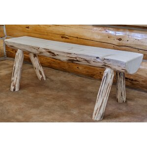 Abordale Half Log Bench by Loon Peak