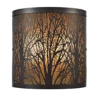 Cadarrah 2 Outdoor Sconce by World Menagerie