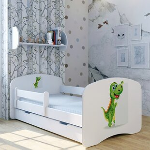 Dino Max Bed With Mattress And Drawer By Zoomie Kids