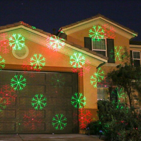 andover mills 2 light snowflake laser projector light reviews wayfair