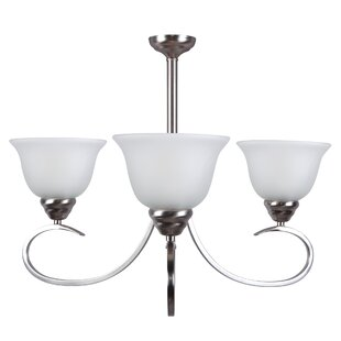 Andover Mills Gibson 3-Light Shaded Chandelier