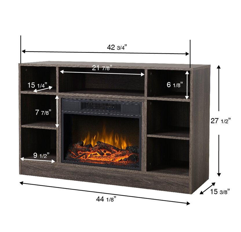Homestar Oakley Media Electric Fireplace TV Stand & Reviews | Wayfair