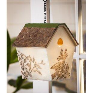 Evergreen Enterprises, Inc Bird Stories 10.5 in x 9.5 in x 8.5 in Birdhouse