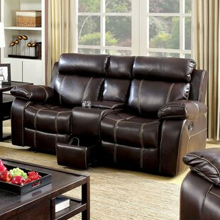 Yizheng Contrast Stitching Reclining Loveseat by Red Barrel Studio Discount