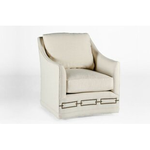 Baldwin Swivel Armchair by Gabby