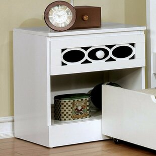 Best Price Dawaliby 1 Drawer Nightstand by Red Barrel Studio