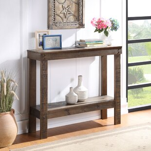 Stockdale 398 Solid Wood Console Table by Loon Peak