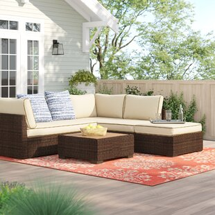 Barb 4 Piece Sectional Set with Cushions