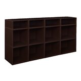 Chastain 32.5 H x 52 W Standard Bookcase by Rebrilliant