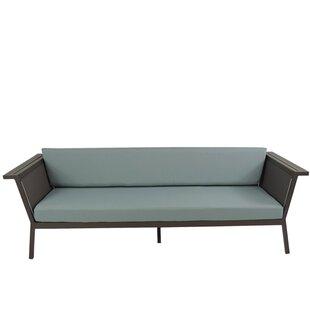 Brayden Studio Marina Geo Sofa with Cushions