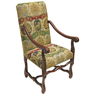 Chateau DuMonde Coat Arm Chair Design Toscano