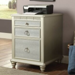 Oneman Transitional 3-Drawer Vertical Filing Cabinet