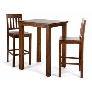 Manora 3 Piece Bar Table Set ...