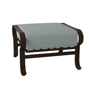 Cascade Ottoman With Cushion by Woodard Today Sale Only