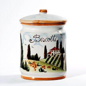 Tuscan Oval Cookie Jar