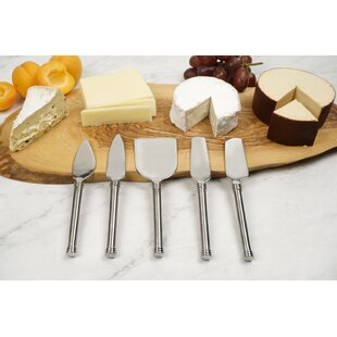 Markers with 5 Piece Cheese Knife Set