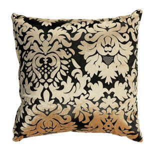 Dama Damask Accent Throw Pillow