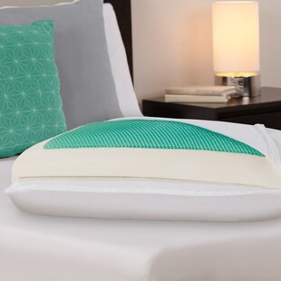Dreamfinity Plush Gel Memory Foam Standard Bed Pillow