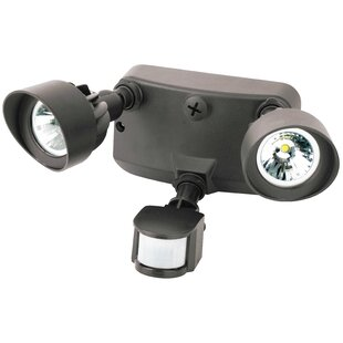 24-Watt LED Outdoor Security Spot Light with Motion Sensor