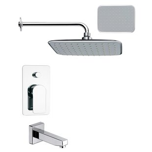Remer by Nameek's Peleo Diverter Tub and Shower Faucet with Valve