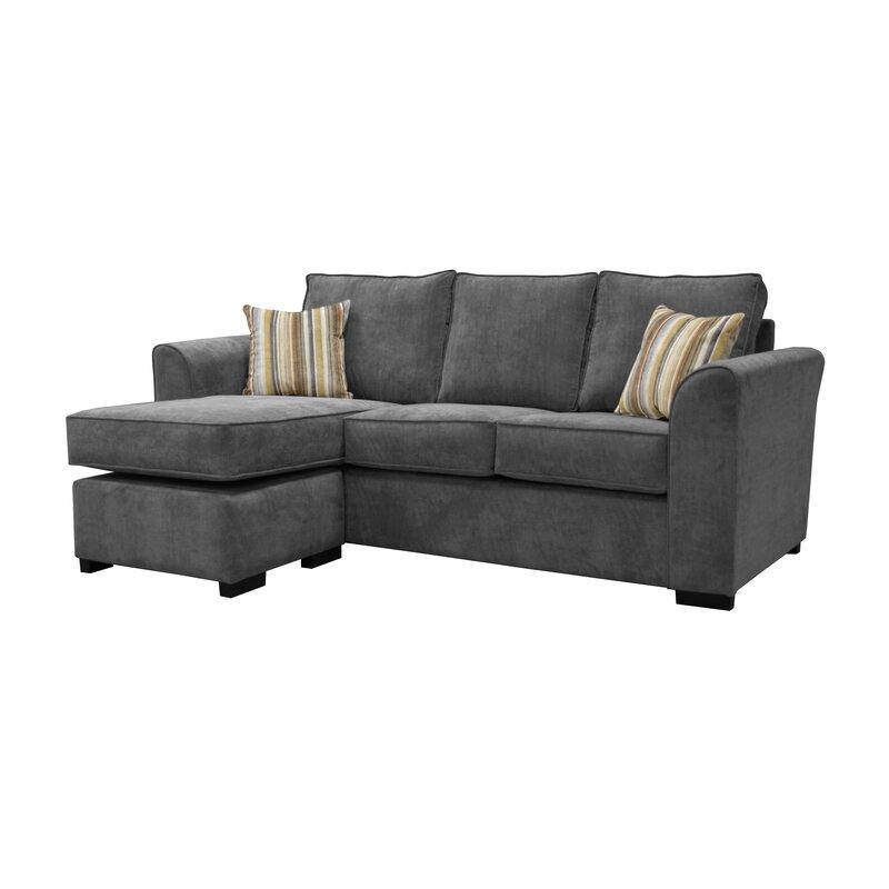 sofa factory lara reversible corner sofa reviews wayfair co uk rh wayfair co uk reversible corner sofa white Reversible Reaction