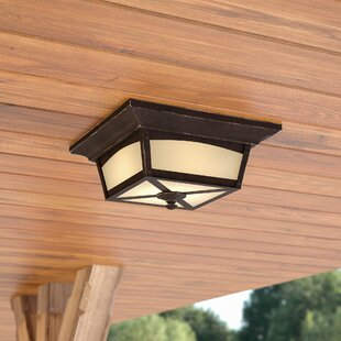 Mason LED Outdoor Flush Mount by Laurel Foundry Modern Farmhouse Great Reviews