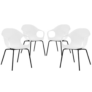 Swerve Arm Chair (Set of 4) by Modway