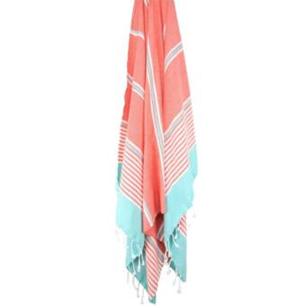 Highland Dunes Rountree Peshtemal Turkish Cotton Beach Towel Wayfair