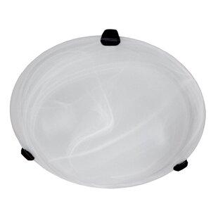 Ebern Designs Bellis 2-Light Flush Mount