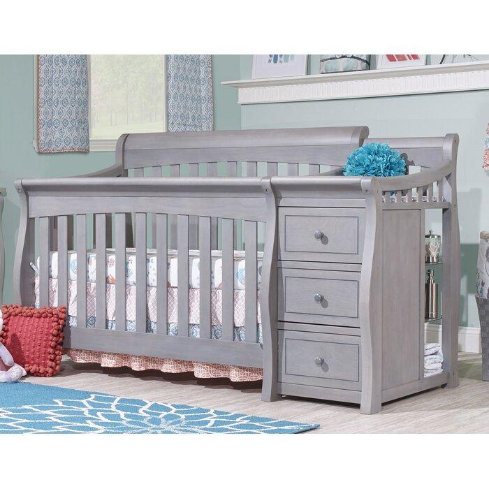 Princeton Elite 4 In 1 Convertible Crib And Changer