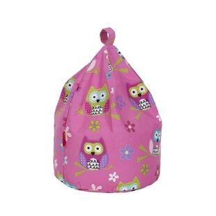 Owl Print Bean Bag Chair By Zoomie Kids