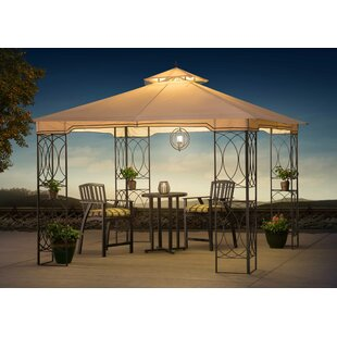 Sunjoy James Aim 10 Ft. W x 10 Ft. D Metal Patio Gazebo