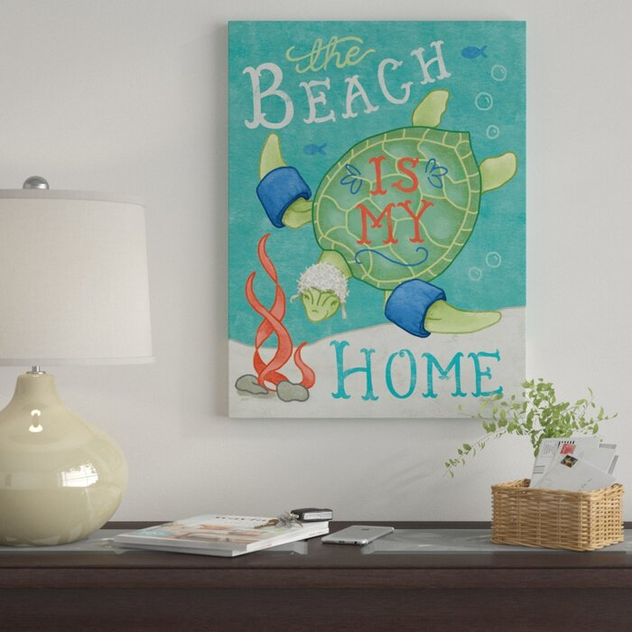 Ocean Friends IV Giclee Stretched Canvas Artwork 18 x 24 Global Gallery Mary Urban