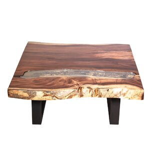 Union Rustic Jean Wood Top Coffee Table