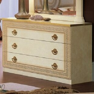 Astoria Grand Stirling 3 Drawer Dresser