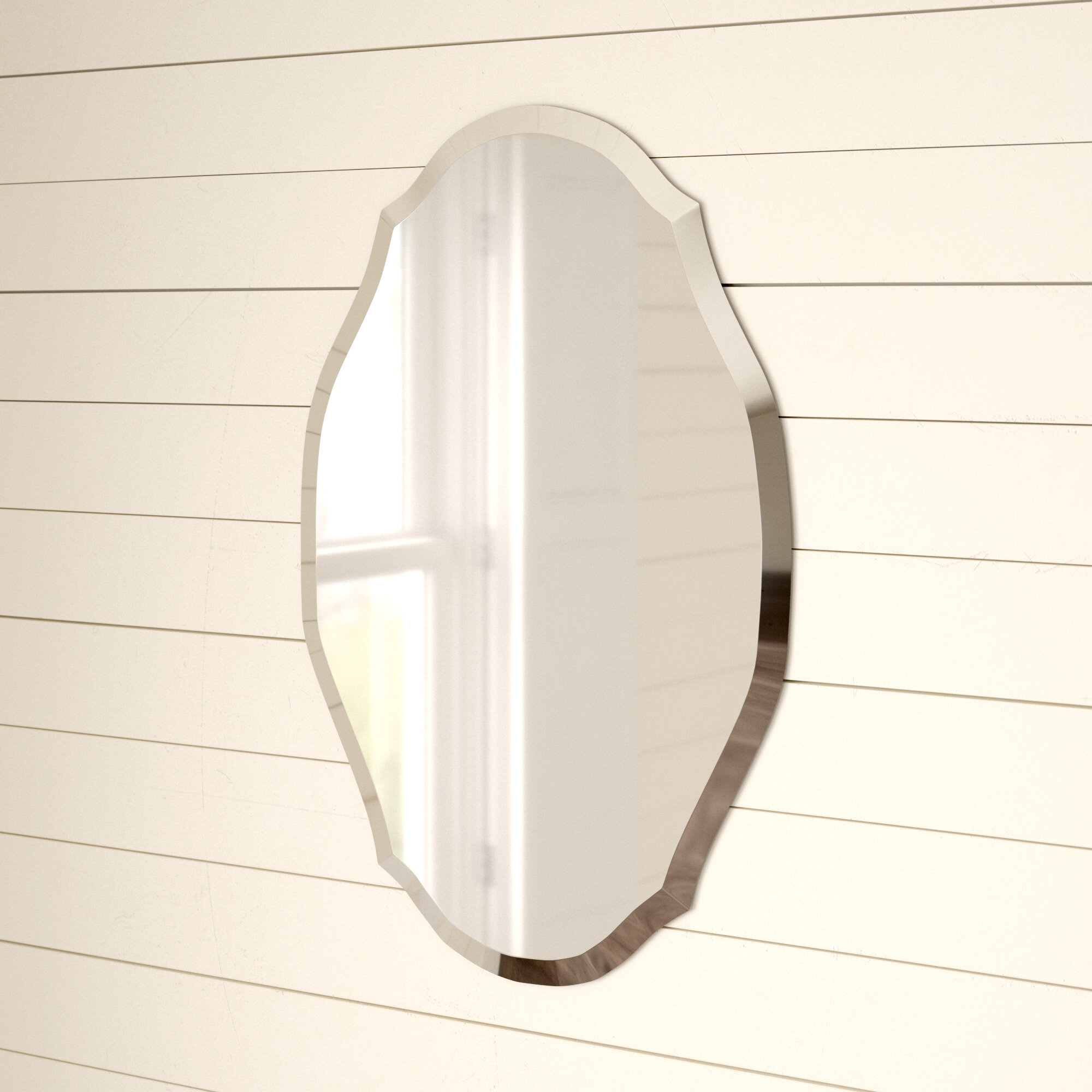 Beveled Oval Mirrors You Ll Love In 2021 Wayfair