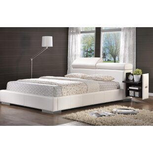 Wade Logan Berger Upholstered Storage Platform Bed