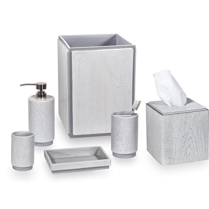Dkny Grey Wood 4 Piece Bathroom
