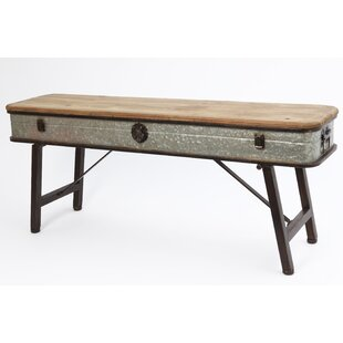 Gerson International Metal/Wood Bench