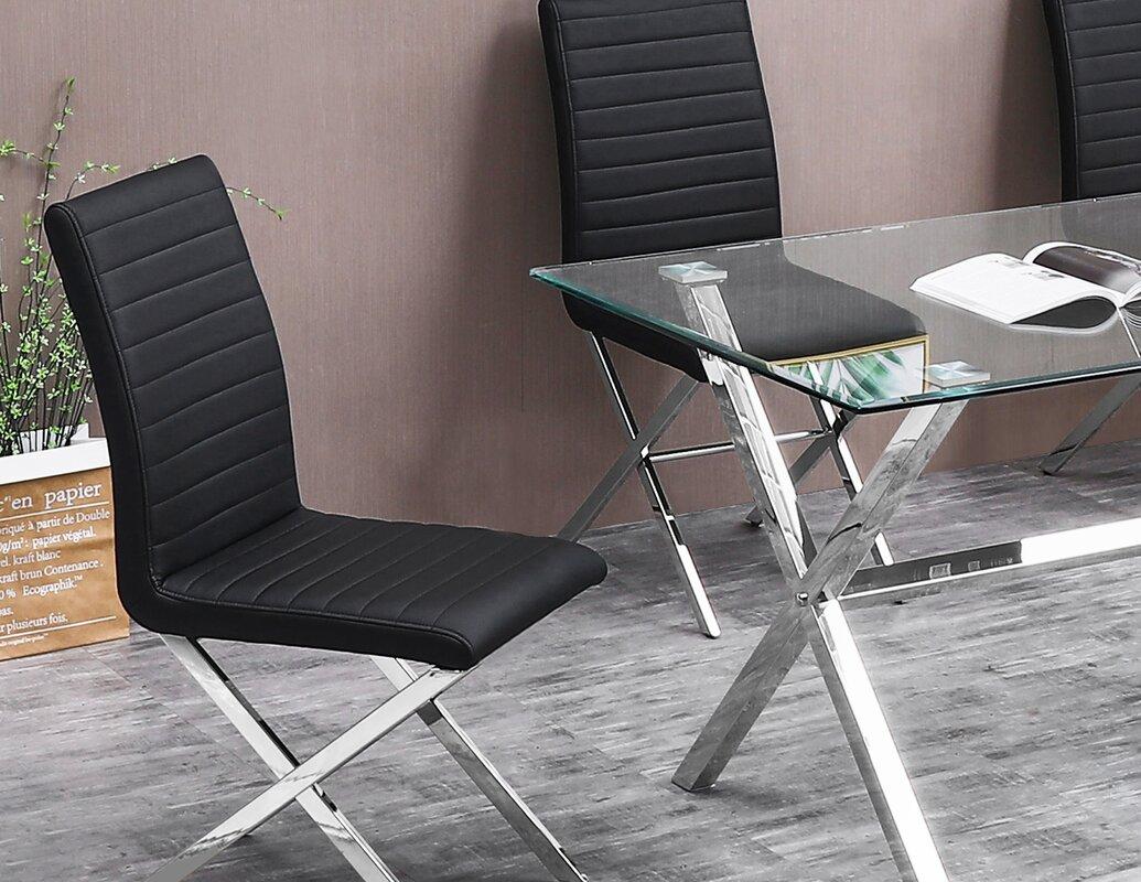Orren Ellis Nyongesa Upholstered Dining Chair (Set of 2)