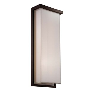 Modern Forms Ledge 2-Light LED Outdoor Flush Mount