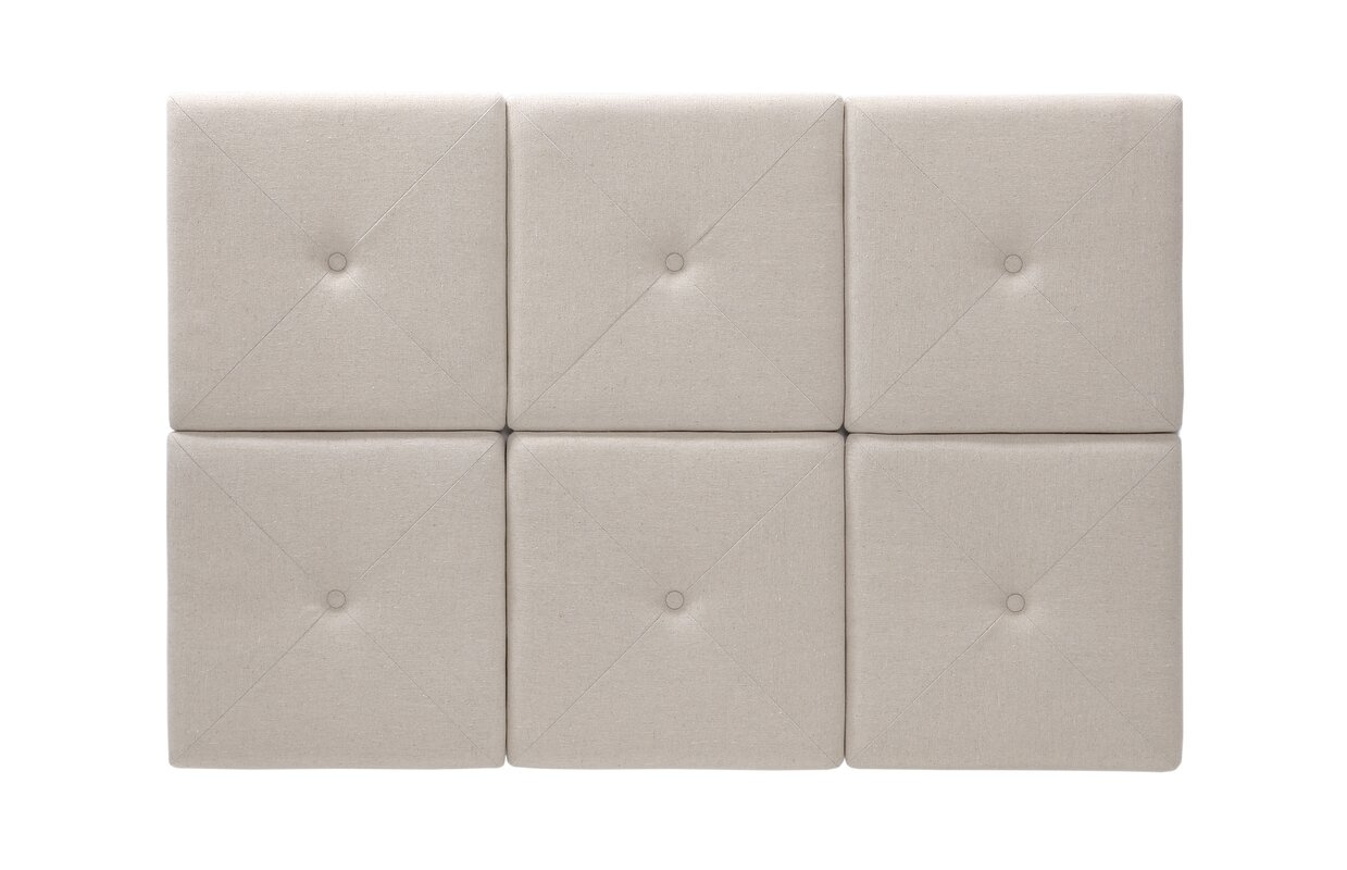 Hazelwood home chestercot tiles upholstered panel headboard chestercot tiles upholstered panel headboard ppazfo