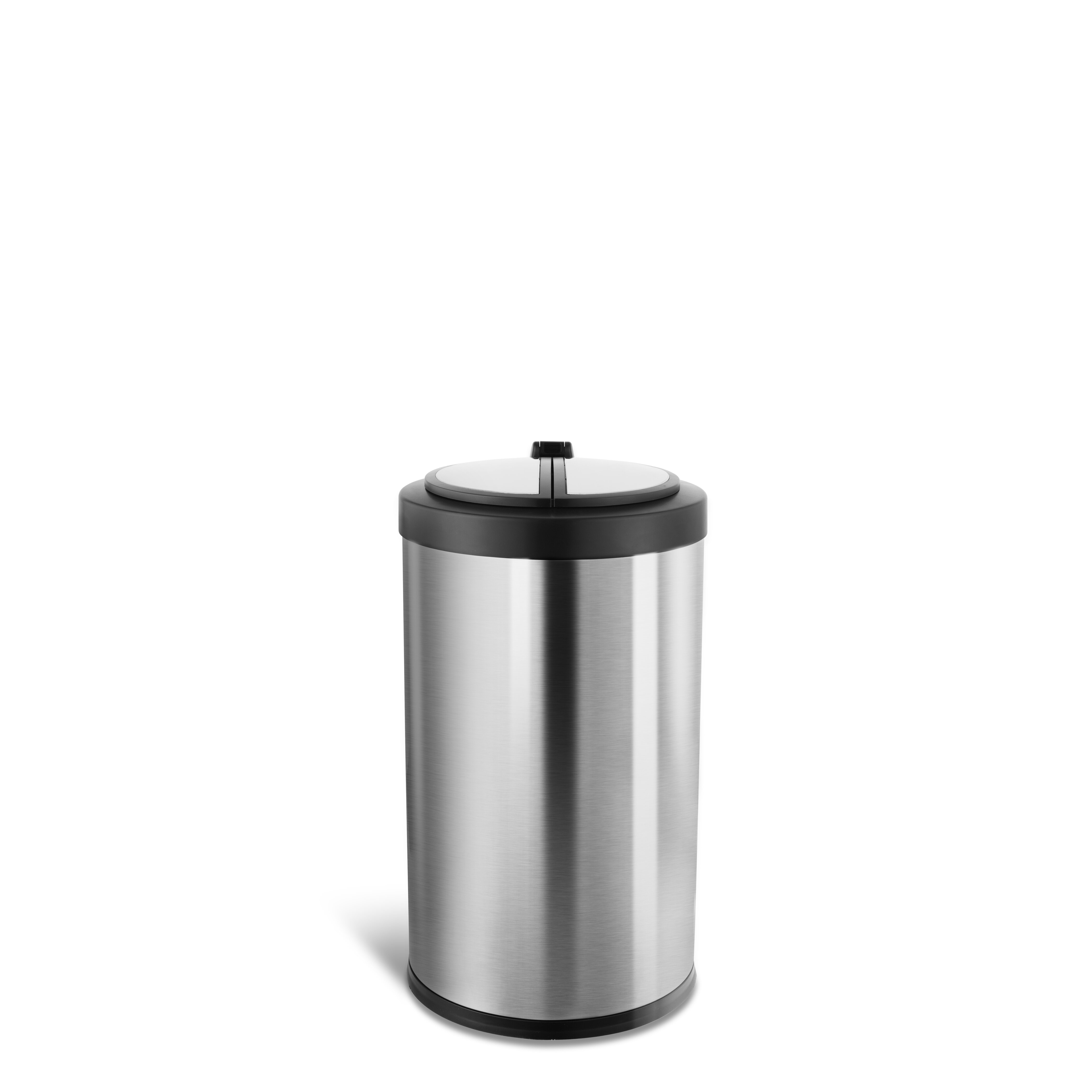 Nine Stars Stainless Steel 3 2 Gallon Motion Sensor Trash Can Reviews Wayfair