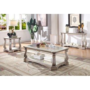 Rosdorf Park Forsyth 3 Piece Coffee Table Set