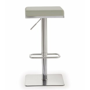 Wade Logan Fahad Adjustable Height Swivel Bar Stool
