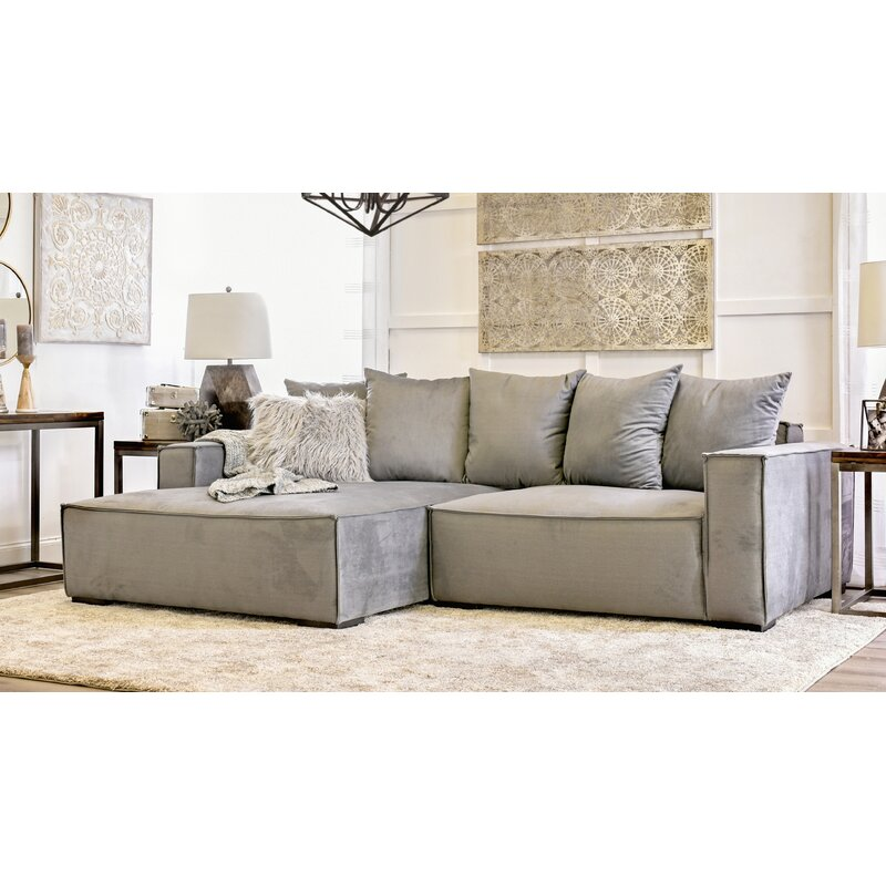 home by sean catherine lowe madison left hand facing sectional reviews wayfair madison left hand facing sectional