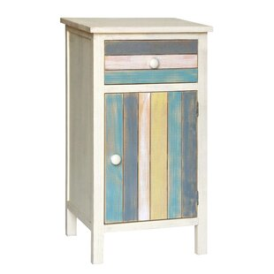 Seaside 1 Drawer and 1 Door Accent Cabinet by Gallerie Decor