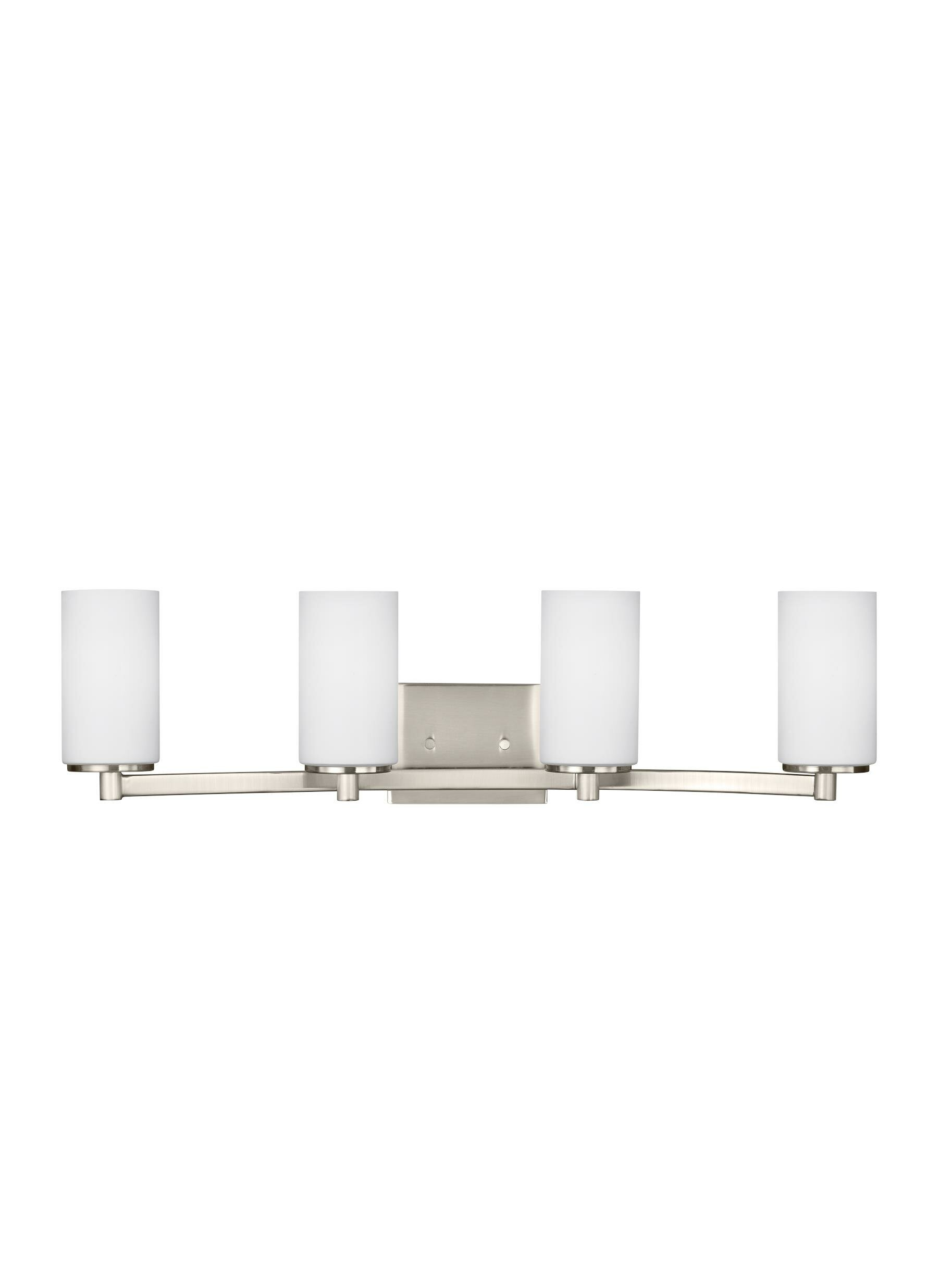 Darby Home Co Burnley 4 Light Dimmable Vanity Light Reviews Wayfair